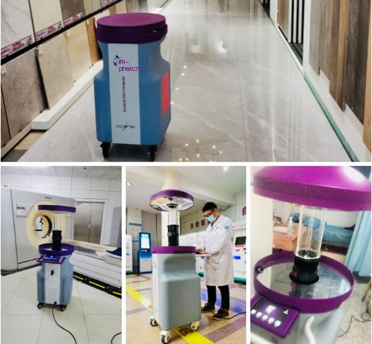 ultraviolet disinfection (UVD) robots